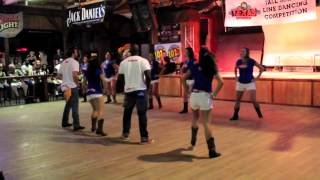 Florida Texas Roadhouse Line Dance Competion 2012 - Gunpowder & Lead