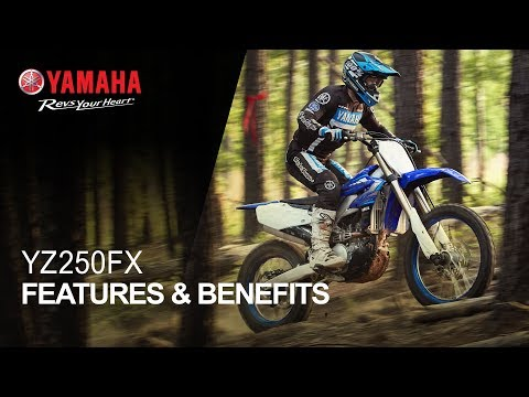 2021 Yamaha YZ250FX in Johnson City, Tennessee - Video 2
