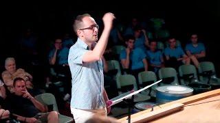 STRAUSS Also Sprach Zarathustra (Intro).- Ensemble Alumnado PercuFest 2016 dirigidos por Josep Furió