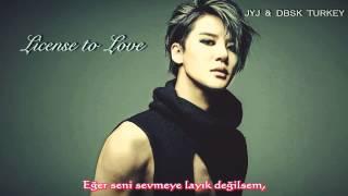 [Türkçe Altyazılı] JYJ/ XIA Junsu - License to Love