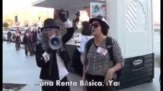 preview picture of video 'EL TREN DE LA RENTA BÁSICA LLEGA A ATOCHA'