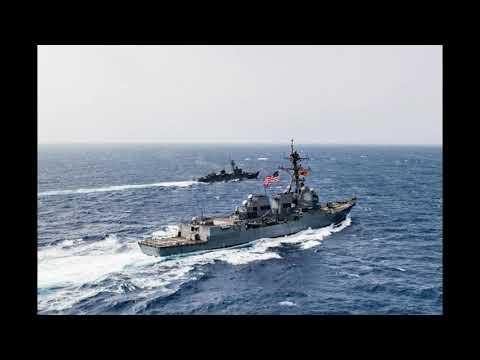 🌍 Корабли США направили на перехват российской боевой группы