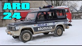 Złomnik: ARO 24 z Andorią Turbo POLICJA
