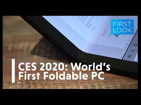 The First Folding PC Is Remarkably Smart
