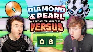 LUKE'S LUCK IS FINALLY TURNING AROUND! • Pokemon Diamond and Pearl Versus • EP 08