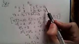 Algebraic Method/equal game method Of GAME THEORY in Hindi by jolly coaching