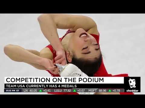 James Yoder On Cheddar Discussing 2018 Winter Olympics - Nathan Chen, Mirai Nagasu, & Adam Rippon