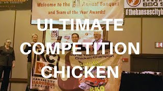 Ultimate BBQ Competition Chicken KCBS TOY 1st Place USA Harry Soo How-to