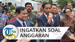 Presiden Jokowi Ingatkan Prabowo soal Anggaran Rp127 Triliun Kementerian Pertahanan