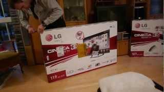 LG 47LM640S 47 Zoll Smart TV im Unboxing [DE]