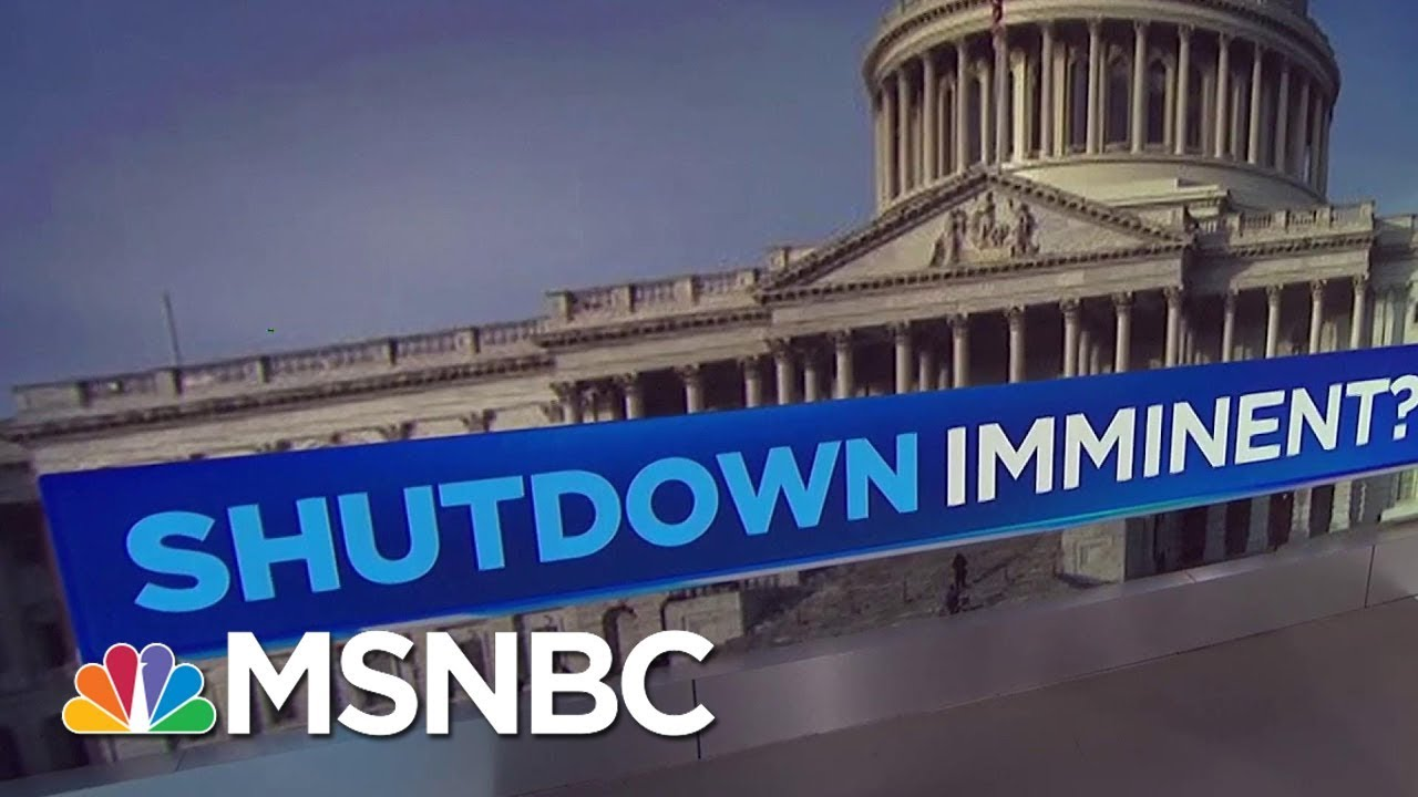 Threat Of Government Shutdown Looming Over Congress | MSNBC thumbnail