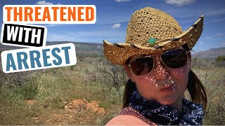 KICKED OUT Of Campsite | Back On The Road To Sedona & Flagstaff