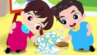 Moon Baby  And My Friend  Finger Family  - Образовательное видео для детей