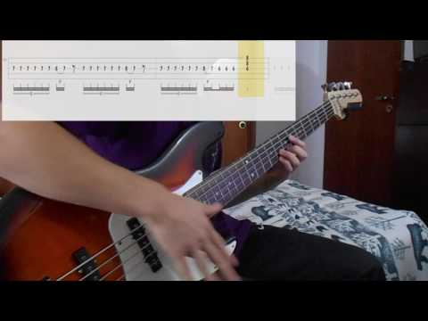 The Day That Never Comes Metallica Bass Cover With Tabs Playalong