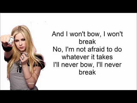 Avril Lavigne-Warrior LYRICS