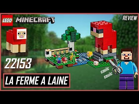 Vidéo LEGO Minecraft 21153 : La ferme à laine