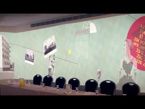 פנורמת וידאו אולם כנסים מלון מטרופוליטן