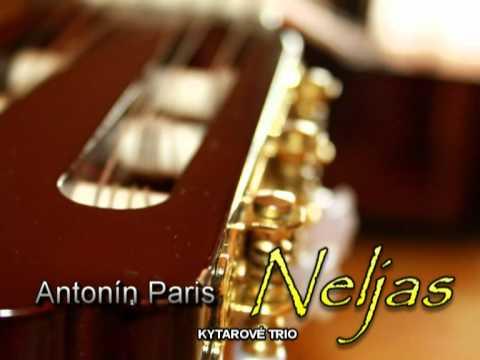 Tonda Paris - Antonín Paris - NELJAS pro tři kytary