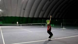 Sofia Shut'ko - College Tennis Recruiting Video Fall 2017 / January 2018