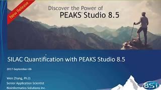 PEAKS SILAC Quantification Webinar