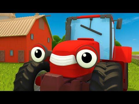 Trevor the Tractor Song | Kids Songs | Gecko's Garage