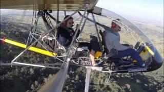 Friend 2 RANS S-18 Flight - GoPro Hero3+ Black