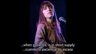 Feist - So Sorry (Subtitulos Inglés - Español)