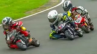 7m+ Views: Kids In INCREDIBLE Minimoto Motorcycle Race! Cool FAB 2017 Rd 4, Minimoto Pro Class