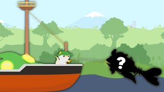I Caught The Secret $1,500,000 Fish in Cat Goes Fishing
