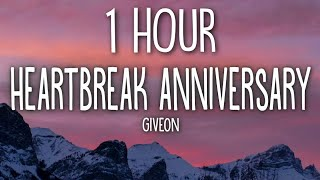 Giveon - Heartbreak Anniversary (Lyrics) 🎵1 Hour
