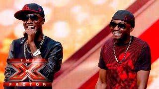 Menn On Poinnt Turn It Up For Our Judges | The X Factor UK 2015