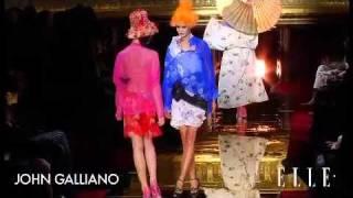 John Galliano. Paris Fashion Week Primavera Verano 2011