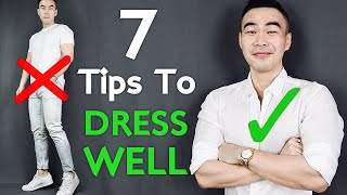 Top 7 Tips To Dress Well For Asian Men | ASIAN STYLE HACKS