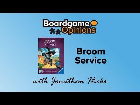 Boardgame Opinions: Broom Service