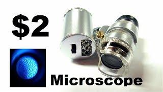 Random Reviews Ep.14: $2 Mini Microscope