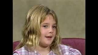 Drew Barrymore interview.Age 9.1984
