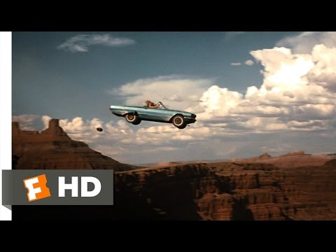 Thelma & Louise (11/11) Movie CLIP - Over The Cliff (1991) HD