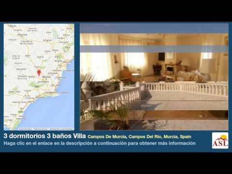 3 dormitorios 3 baños Villa se Vende en Campos De Murcia, Campos Del Rio, Murcia, Spain