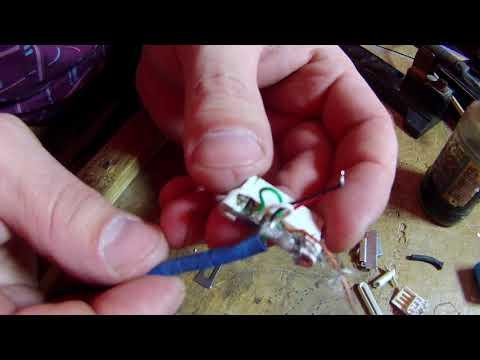 ремонт шнура для айфона своими руками !