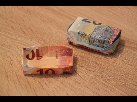 Geldbox/Geldschachtel falten