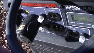 HF Predator 3500 generator vs Honda EU2000 - Самые лучшие видео