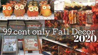 Fall 2020 Shop With Me | Fall Home Decor Dollar Store