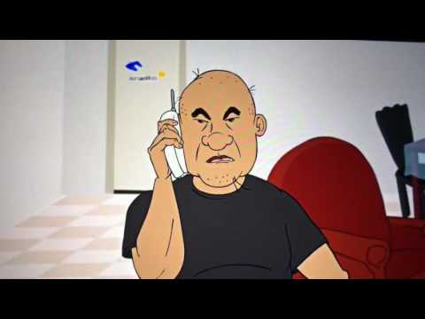 manolo cabeza de huevo habla con el pintor