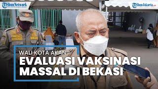 Antrean Mengular, Wali Kota Bekasi Evaluasi Pelaksanaan Vaksinasi Massal di Stadion Patriot