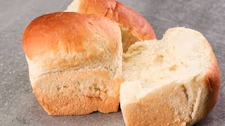 how to make bread without eggs and milk