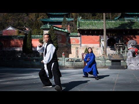 Week One: Tai Chi Training in China - YouTube