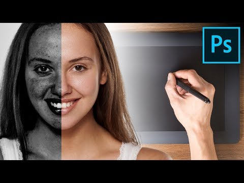 A Tablet Trick to Remove Blemishes SUPER FAST! – Photoshop Tutorial