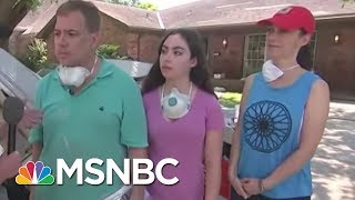 Houston Family Returns Home To Find Devastation After Hurricane Harvey Flood | MSNBC thumbnail