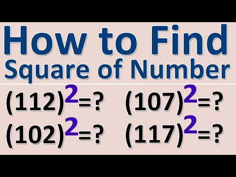 Square of Number Lesson