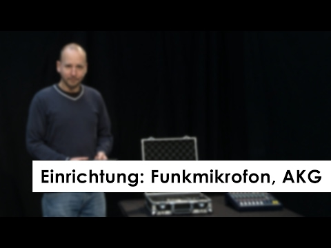 Einrichtung: Funkmikrofon, AKG I PIELENtech - Veranstaltungstechnik
